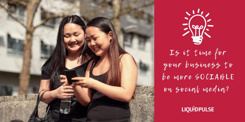 Be more SOCIABLE on social media
